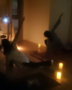 夜クラス(ぐっすり眠れるヨガ:キャンドル陰ヨガ)
